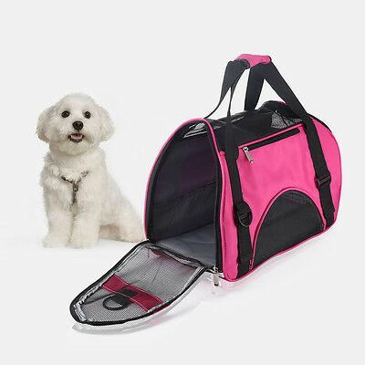 Portable Pet Dog Cat Puppy Travel Carry Carrier Tote Cage Bag Crates Kennel