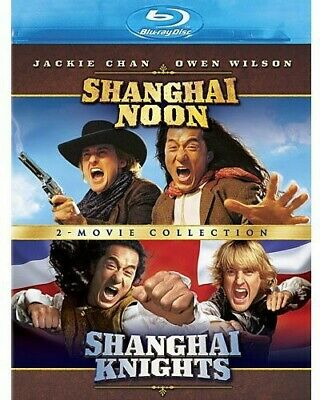 Shanghai Noon & Shanghai Knights 2: Movie Coll [New Blu-ray] Ac-3/Dolby Digita