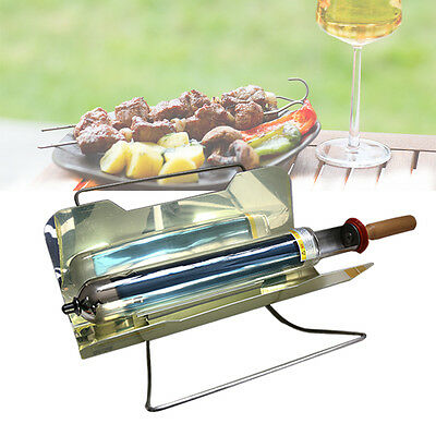 Portable Solar Outdoor Kitchen BBQ Oven Can Cook A Meal Anywhere Anytime