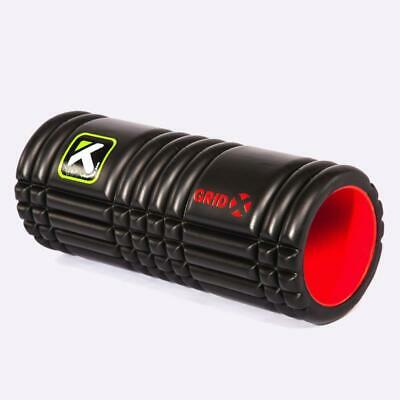 New The Grid X Trigger Point Foam Roller - Black (EXTRA FIRM) from The WOD Life