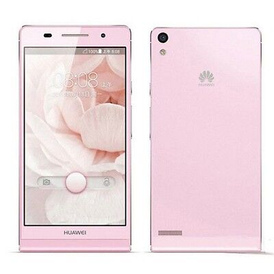 Dummy mobile phone Huawei Ascend P6 replica model - Pink