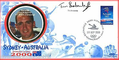"2000 Sydney Olympics - Benham ""Special"" - Signed by TIM BRABANTS"