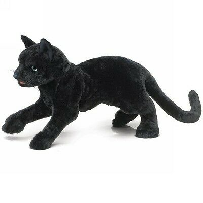 Black Cat Puppet by Folkmanis - 2987