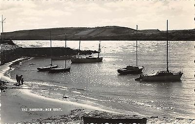 Wales Postcard The HArbour New Quay  J3 005