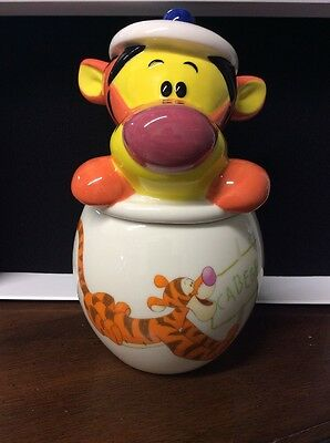 Disney Store Tigger Figure Cookie Jar NIB RARE HTF Sold Out