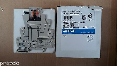 OMRON G2RV-SL700 DC24 Industrial Slim Relay 6A screw terminals - price for 1 pc