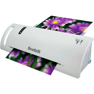 BRAND NEW Scotch Thermal Paper Laminator Refillable Easy to use machine 2 Roller
