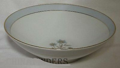 NORITAKE china VANESSA 5541 pattern Round Vegetable Serving Bowl @ 8-7/8""