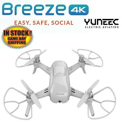 Yuneec YUNFCAUS Breeze 4K Self Flying Camera Drone / Quadcopter IN STOCK