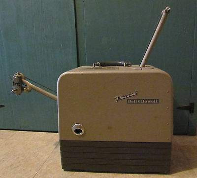 Vintage Bell and Howell FilmoSound 202 16mm Projector And Speaker Set