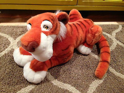 Jungle Book Shere Khan Tiger Large 18 Inch Plush Disney Store Exclusive