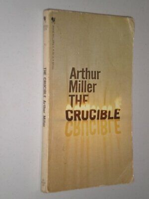 The Crucible - A Play In Four Acts by Miller, Arthur Paperback Book The Cheap