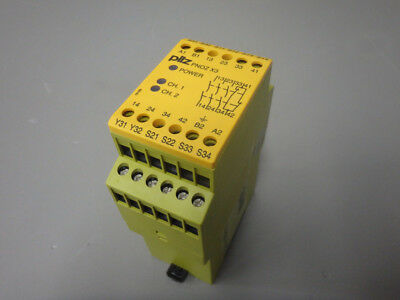 774318 - Pilz - 774318 / Pnoz X3 3S/o Relay Security Used