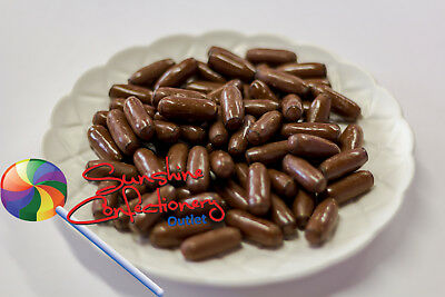 MILK CHOCOLATE BULLETS  -  450 grams - Party Lollies, Licorice