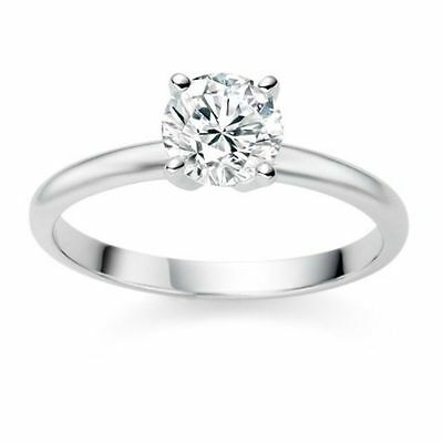2 ct. Classic Opulent White Sapphire Solitaire Ring - Solid Sterling Silver ~~