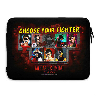 MORTAL KOMBAT FIGHTER  funda portatil  laptop-sleeve officially licensed