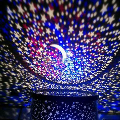 Amazing LED Starry Night Sky Projector Lamp Star Light Cosmos Master Gift