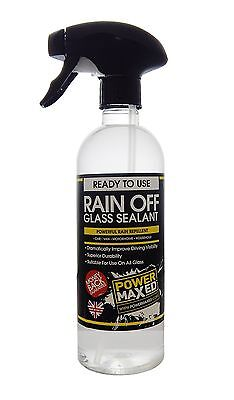 Power Maxed PMRO500P1 Off Glass Sealant Rain Repellent Cleaning Polishes UXX