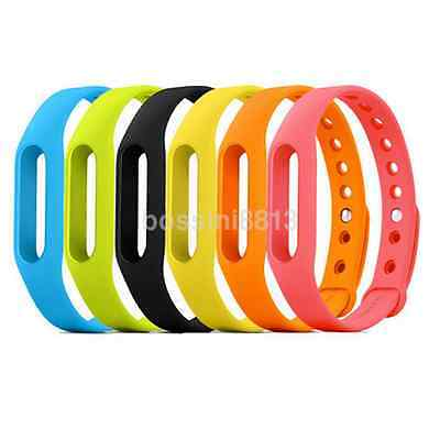 10 Color Colorful Silicone Replace Belt Strap For Xiaomi Smart Wristband Band CA