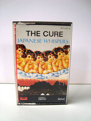 k7 audio cassette tape - the cure japanese whispers polydor