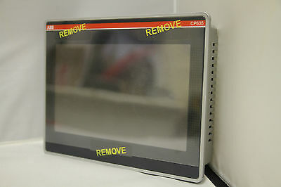 """Abb Cp635 7"""" Tft Touchscreen Control Panel - New Old Stock"""