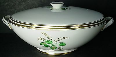 Royal Tuscan china CHARM pattern ROUND Cov. VEGETABLE Serving BOWL also Tuscan