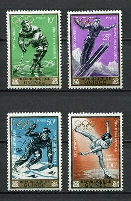 27215) GUINEA 1964 MNH** Nuovi** 9th Winter Olympic Games 4v