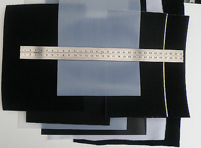 Large Hook and Loop Sheets 8cm/11cm/15cm/18cm/30cm Wide. Plain and Self Adhesive
