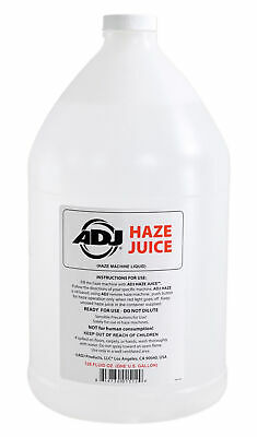American DJ ADJ Haze Fluid Juice Liquid Gallon