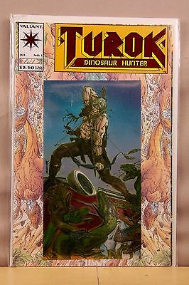 Turok Dinosaur Hunter #1 (1993) Valiant Comics * FREE SHIPPING **