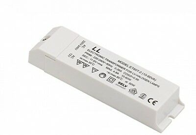 240v-12v Transformer Rated Leyton Lighting 60W Energy Consumption Terminal Block