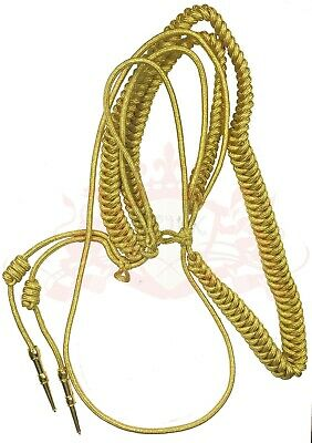 Aiguillette Gold MYLAR Army Air Force Navy