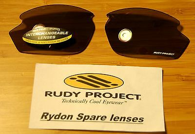 Authentic Rudy Project Rydon lenses NEW - Smoke Black