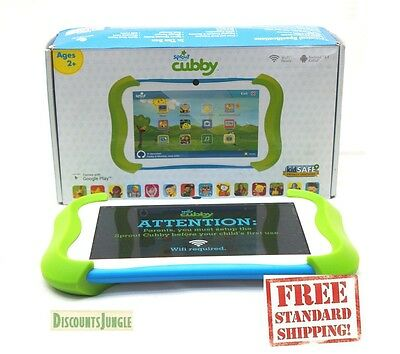Sprout Channel Cubby 7 inch HD 16GB Kid-Friendly Tablet