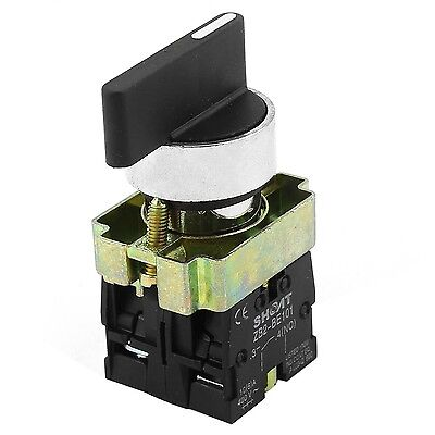 ZB2-BE101 SPDT 2NO 3-Position Rotary Selector Switch AC 600V 10A
