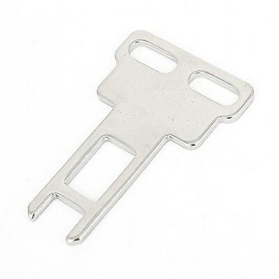 CZ-93-K1 Tongue Door Safety Interlock Switch Actuating Key Silver Tone