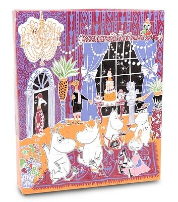Moomin on the Riviera Advent Christmas Calendar with Plastic Toys Martinex