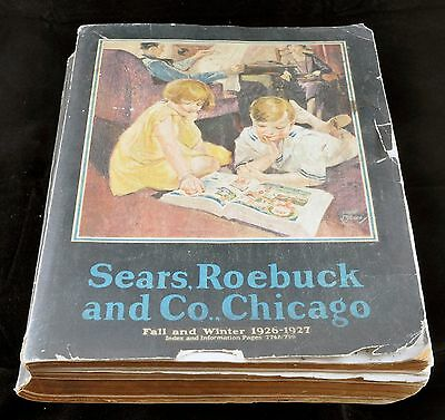 Vintage Sears, Roebuck and Co. 1926-27 Fall/Winter Catalog