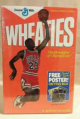 Wheaties Box Micheal Jordan Rare and Sealed