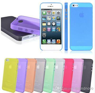 Wholesale - 10-200 Slim Transparent iPhone Case for  5/5S & 5C -Great For Resale