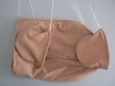 "Reborn Doll Bodies for BIRACIAL 21-22"" 3/4 limbs Doe Suede"