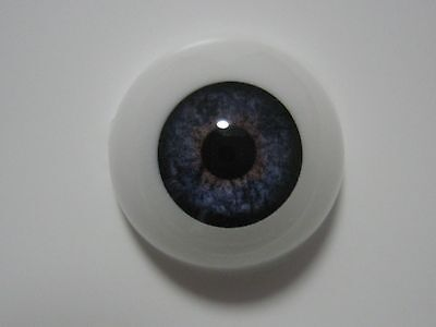 Reborn doll eyes 18mm Half Round  TWILIGHT BLUE