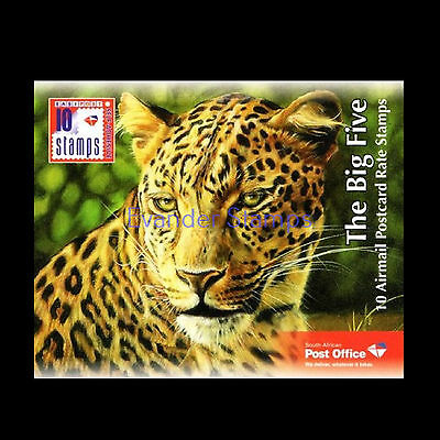 South Africa 2014 Big Five Booklet. MNH