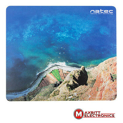 Pictorial Natec Mousepad Mice Pad Mat For Optical Mouse Cliff