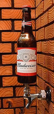 BUDWEISER BEER TAP HANDLE - A COOL GIFT for MANCAVE, KEGERATOR or BOTTLE DISPLAY