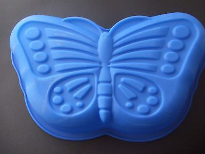 """Silicone Mould Large 11"""" Butterfly Cake/ Pan/ Tin/ Baking- Birthday"""