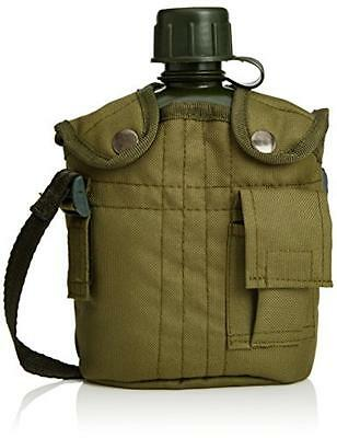 NEW Army Style Water Bottle Canteen Capacity: 1L