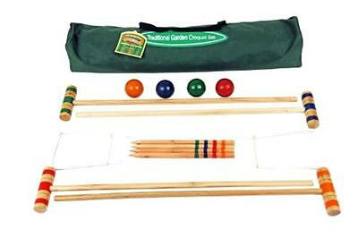 NEW Junior Traditional Lawn Croquet Set for Children