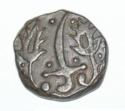Falus 1257( sword between two leaves ).copper