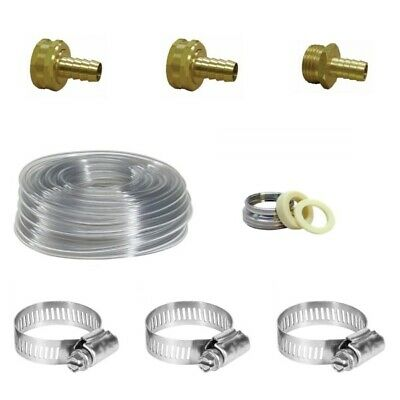 NY Brew Supply Accessory Pack For Garden Hose Immersion Wort Chillers